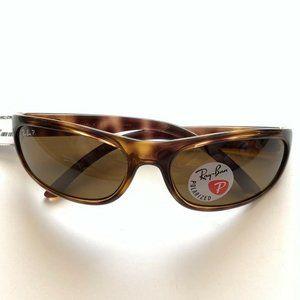 Ray Ban RB4033 Polarized Predator Wrap Sunglasses